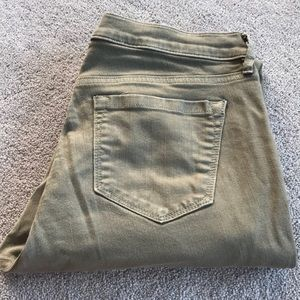 Loft Cuffed Cropped Jeans - Size 30/10p